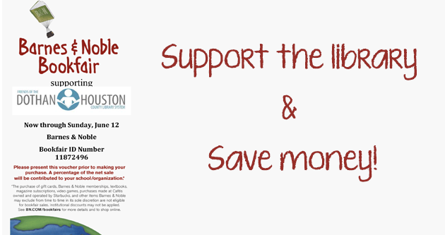 Support the library through B&N!
