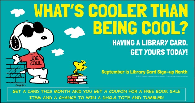 Sept Library Card Sign Up website carousel