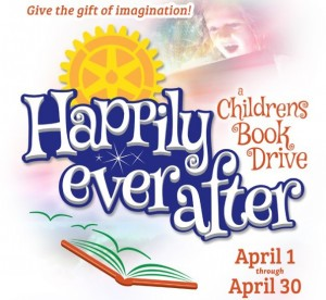 Rotary Club's children's book drive