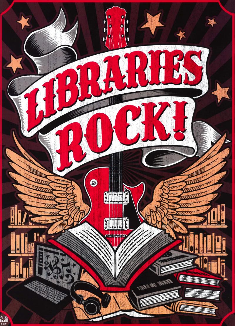 Libraries Rocks! - 2018 Summer Reading Program