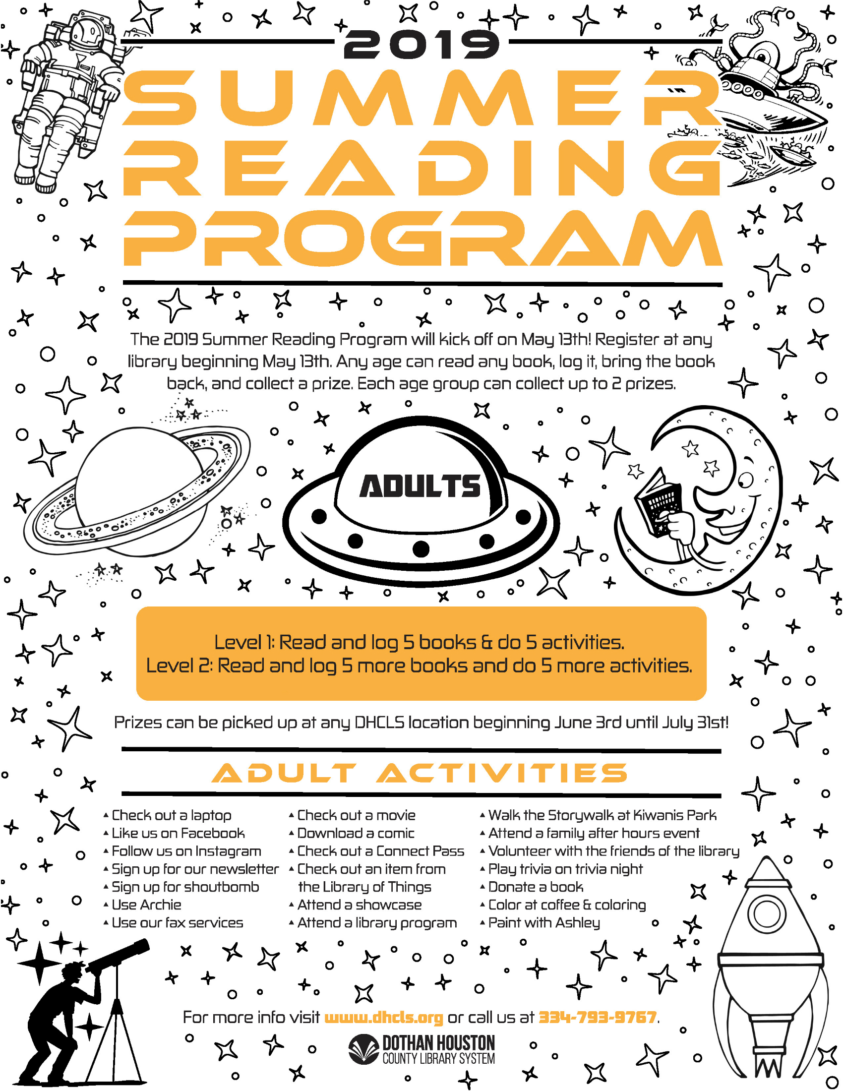 A Universe of Stories - 2019 Summer Reading Program