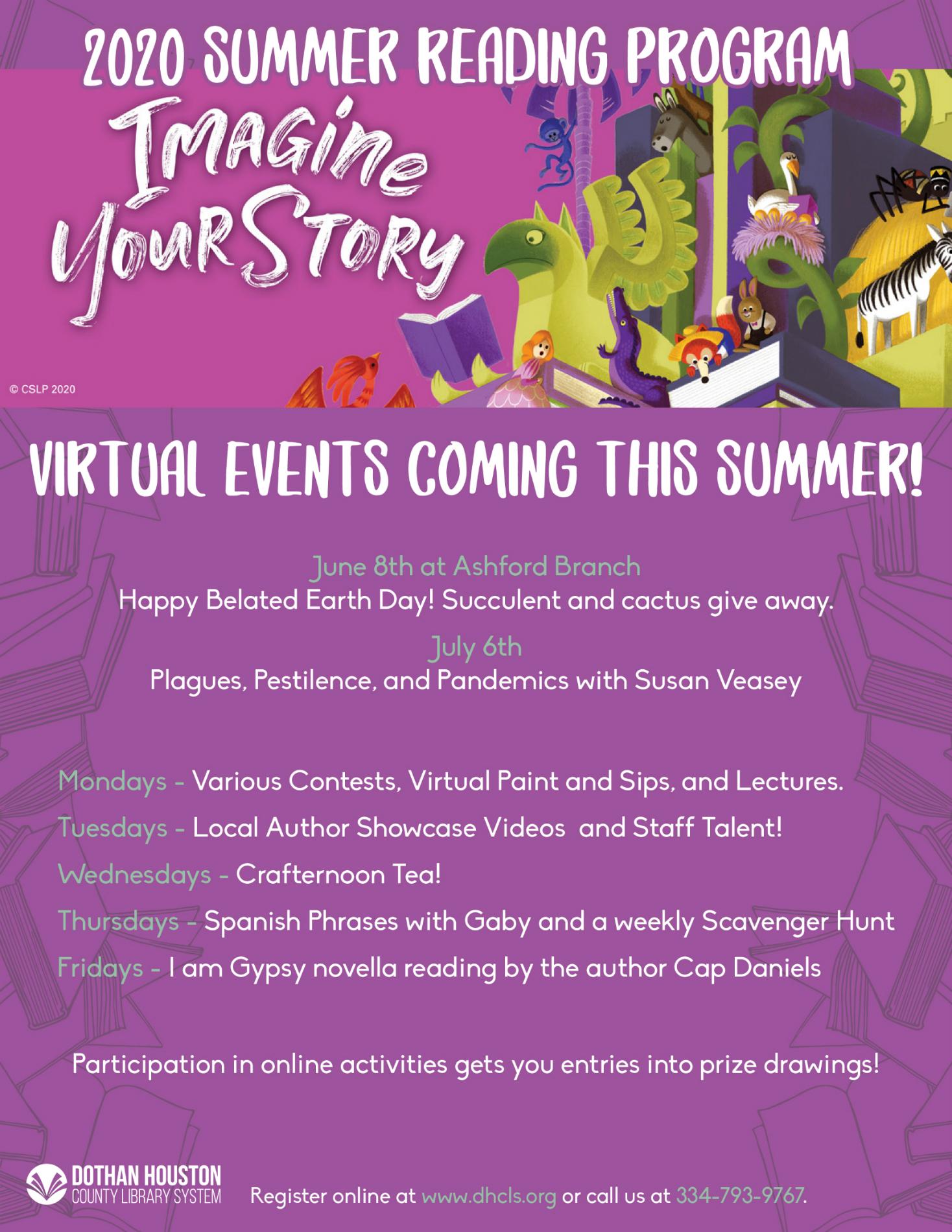 Imagine Your Story - 2020 Summer Reading Program