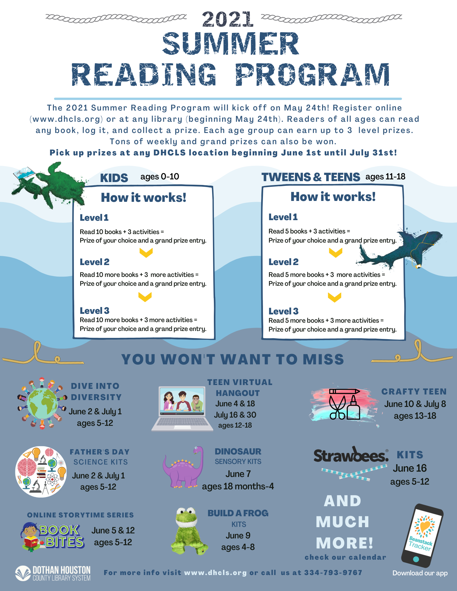 Tails and Tales - 2021 Summer Reading Program